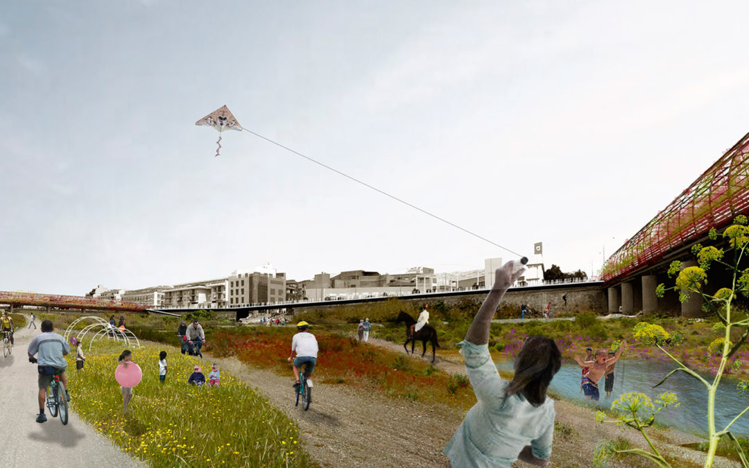 Concurs d'idees sobre el tractament de l'entorn urbà de la rambla de Nogalte (Puerto Lumbreras, Murcia)