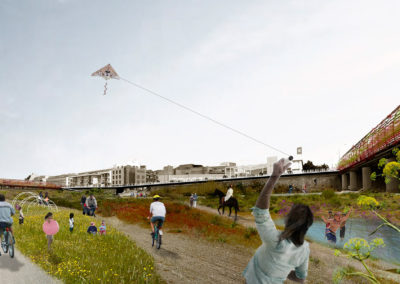 Concurso de ideas sobre el tratamiento del entorno urbano de la rambla de Nogalte (Puerto Lumbreras, Murcia)