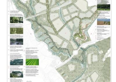 Propuesta de corredor verde para el Centre Direccional de Cerdanyola