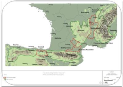El Gran Conector Ecológico «Cantábrico – Pirineos – Macizo Central – Alpes»