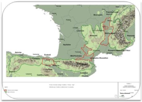 "El Gran Connector Ecològic ""Cantàbric – Pirineus – Massís Central – Alps"""