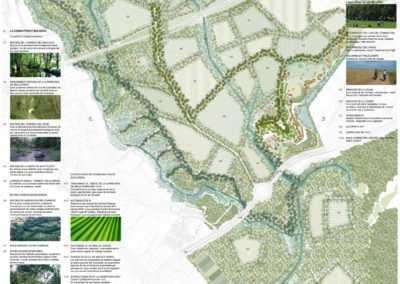 Proposta de corredor verd pel Centre Direccional de Cerdanyola