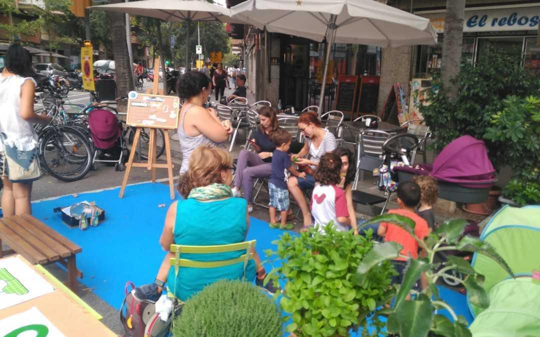 Repensando los espacios urbanos: Park (ing) day en Barcelona