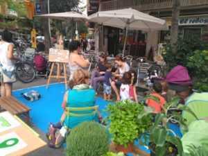 repensar els usos dels espais urbans al parking day