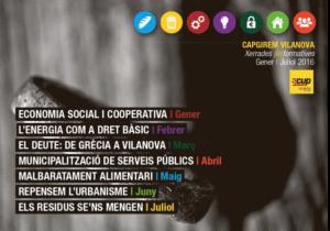 Hem participat en les Xerrades (in)formatives Capgirem Vilanova organitzades per la CUP de Vilanova i la Geltrú.