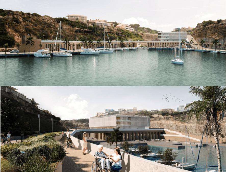 tercer lloc en el Concurs per a la ordenació i urbanització de Cala Figuera (Port de Maó)