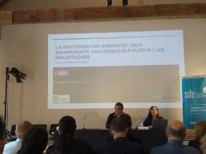Jornada sobre la sostenibilitat ambiental dels equipaments culturals, els museus i les biblioteques