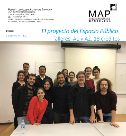 Conferencia en el Master in Landscape and Architecture of Barcelona (2018- 2019)