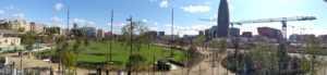 Inaugurada la primera fase del Parc de les Glòries