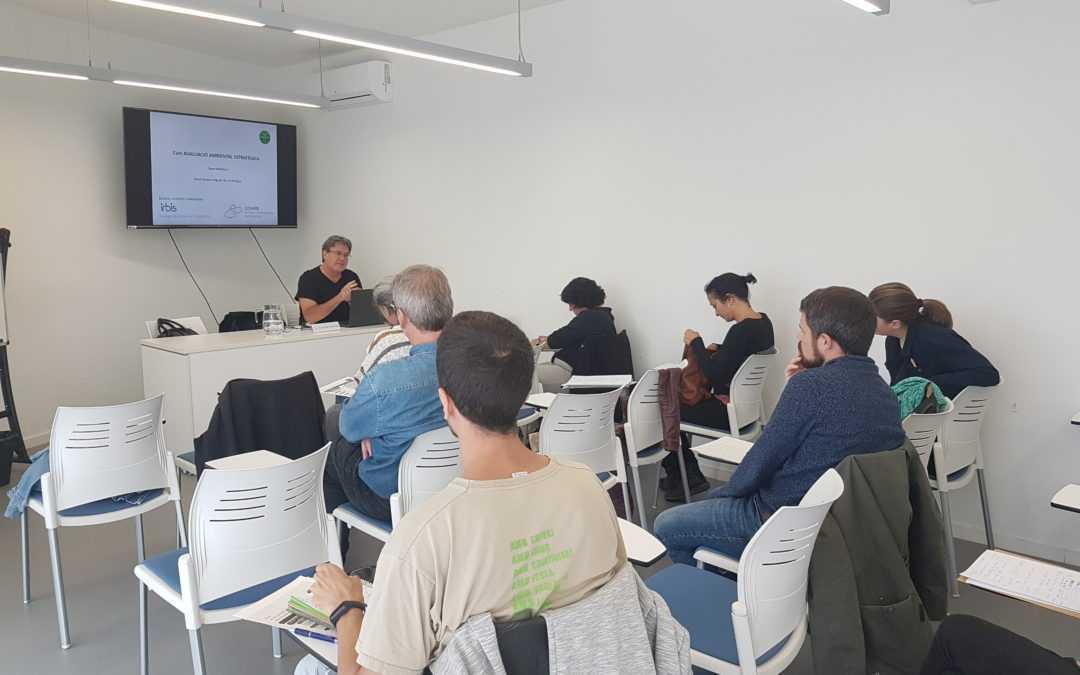 IRBIS ha participat en la docència del Curs sobre Avaluació Ambiental Estratègica