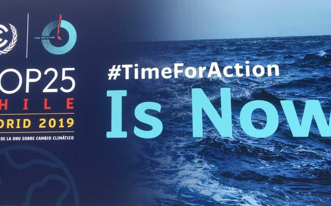 Nos invitan a la COP25 de Madrid para hablar de Ciudad Sostenible