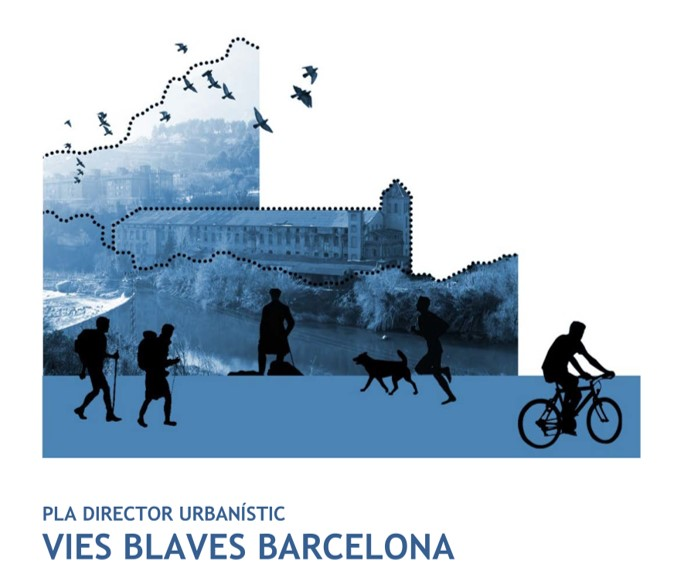 Portada del PDU Vies Blaves Barcelona