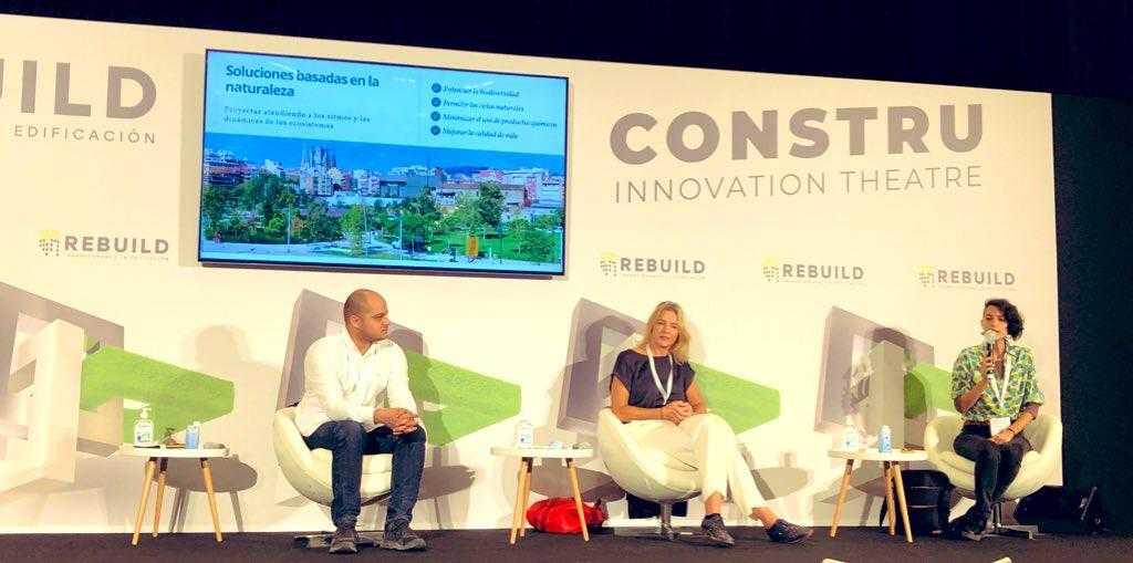 Participem al REBUILD, el congrés sobre edificació  de Barcelona