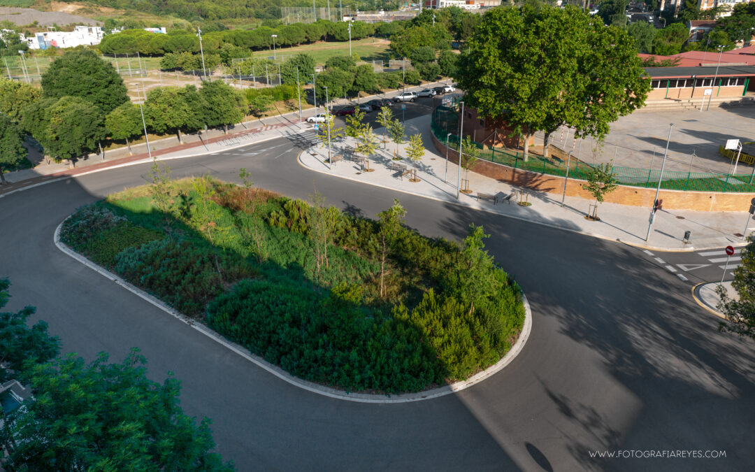 Nou Small Ecosystem dissenyat per IRBIS i SCOB a Sant Boi de Llobregat
