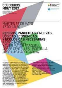 Poster del coloqui de dimarts 25 de maig